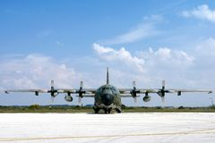 Aeroplano militare Immagine Stock Libera da Diritti