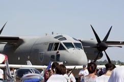 Aeroplano militare Immagine Stock