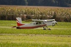 Aeroplano modelo Imagenes de archivo