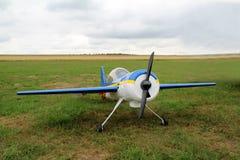 Aeroplano modelo fotografía de archivo libre de regalías