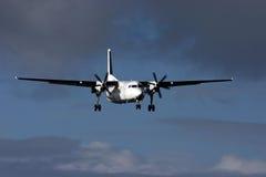 Aeroplano nel cielo Immagini Stock