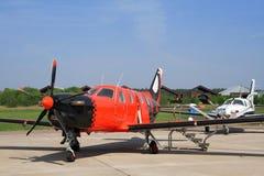 Aeroplano per i voli di affari Immagini Stock