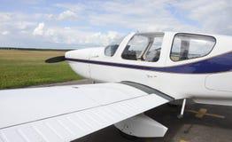 Aeroplano privato Immagini Stock