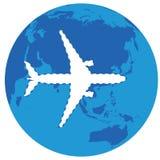 Aeroplano que falta Imagen de archivo libre de regalías
