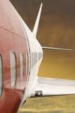 Aeroplano rápido Imágenes de archivo libres de regalías