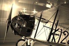 Aeroplano retro Imágenes de archivo libres de regalías