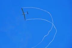 Aeroplano singolo   Fotografia Stock Libera da Diritti