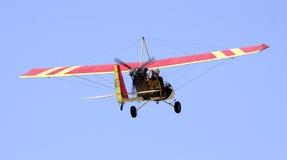 Aeroplano ultra ligero fotos de archivo