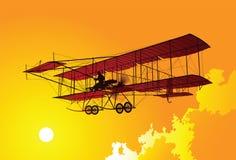 Aeroplano viejo Imagen de archivo