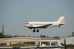 Aeroplano viejo Imagen de archivo libre de regalías