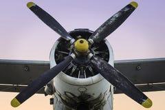 Aeroplano viejo del propulsor Fotos de archivo