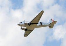 Aeroplano viejo del turbopropulsor Imagenes de archivo