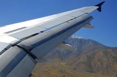 Aeroplano Wing Tip Travel Foto de archivo