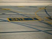 Aeroplano y aviación Imagen de archivo libre de regalías