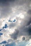 Aeroplanos en airshow Fotos de archivo libres de regalías
