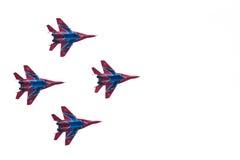 Aeroplanos militares su 27 Imagenes de archivo