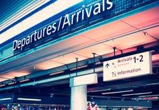 Aeroporto Fotografia de Stock