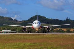 Aeroporto Air Asia de Banguecoque Fotografia de Stock Royalty Free