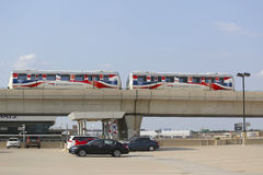 Aeroporto AirTrain di JFK a New York Immagine Stock