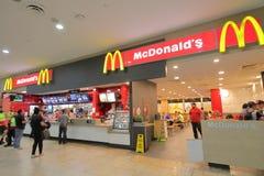 Aeroporto Austrália de Mcdonalds Melbourne imagem de stock royalty free
