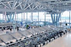 Aeroporto Banguecoque de Suvarnabhumi Fotos de Stock