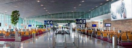 Aeroporto Charles de Gaulle - Paris Foto de Stock Royalty Free