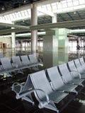 Aeroporto che mette 3 a sedere Immagini Stock