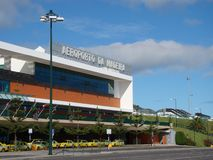 aeroporto da马德拉岛 图库摄影