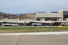 Aeroporto de Adler Fotografia de Stock Royalty Free