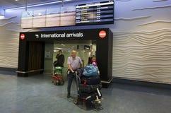 Aeroporto de Auckland - Nova Zelândia Fotos de Stock