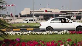 Aeroporto de Barém Internacional - exterior video estoque