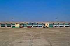 Aeroporto de Bhubaneshwar fotografia de stock