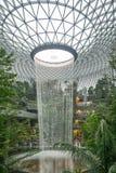 Aeroporto de Changi da joia fotografia de stock royalty free