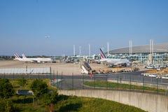 Aeroporto de Charles de Gaulle Foto de Stock