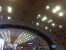 Aeroporto de Charles de Gaulle imagens de stock