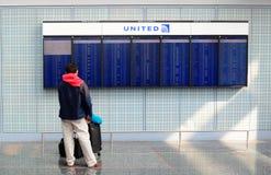 Aeroporto de Chicago Foto de Stock Royalty Free