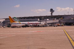 Aeroporto de Düsseldorf (DUS) Fotografia de Stock