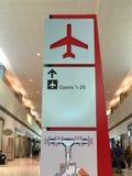 Aeroporto de Dallas Love Field para dentro imagens de stock