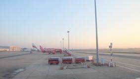 Aeroporto de Donmuang da manhã em Tailândia imagem de stock