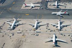 Aeroporto de Dubai Imagens de Stock