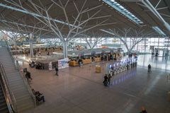 Aeroporto de Estugarda, Alemanha Fotografia de Stock Royalty Free