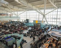 Aeroporto de Heathrow em Londres, terminal 5 Foto de Stock