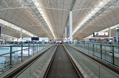 Aeroporto de Hong Kong Fotografia de Stock