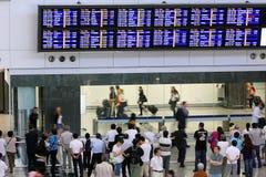 Aeroporto de Hong Kong Int'l Foto de Stock