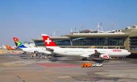 Aeroporto de Joanesburgo Tambo Foto de Stock