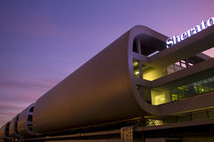 Aeroporto de Malpensa do hotel de Sheraton imagem de stock