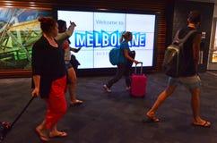 Aeroporto de Melbourne - Tullamarine Airpor Fotos de Stock Royalty Free