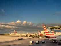 Aeroporto de Miami fotos de stock
