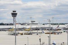 Aeroporto de Munich Imagens de Stock Royalty Free