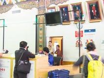Aeroporto de Paro em Butão Imagens de Stock